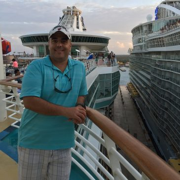 Christopher Cardona - Host of TalkingCruise YouTube Show
