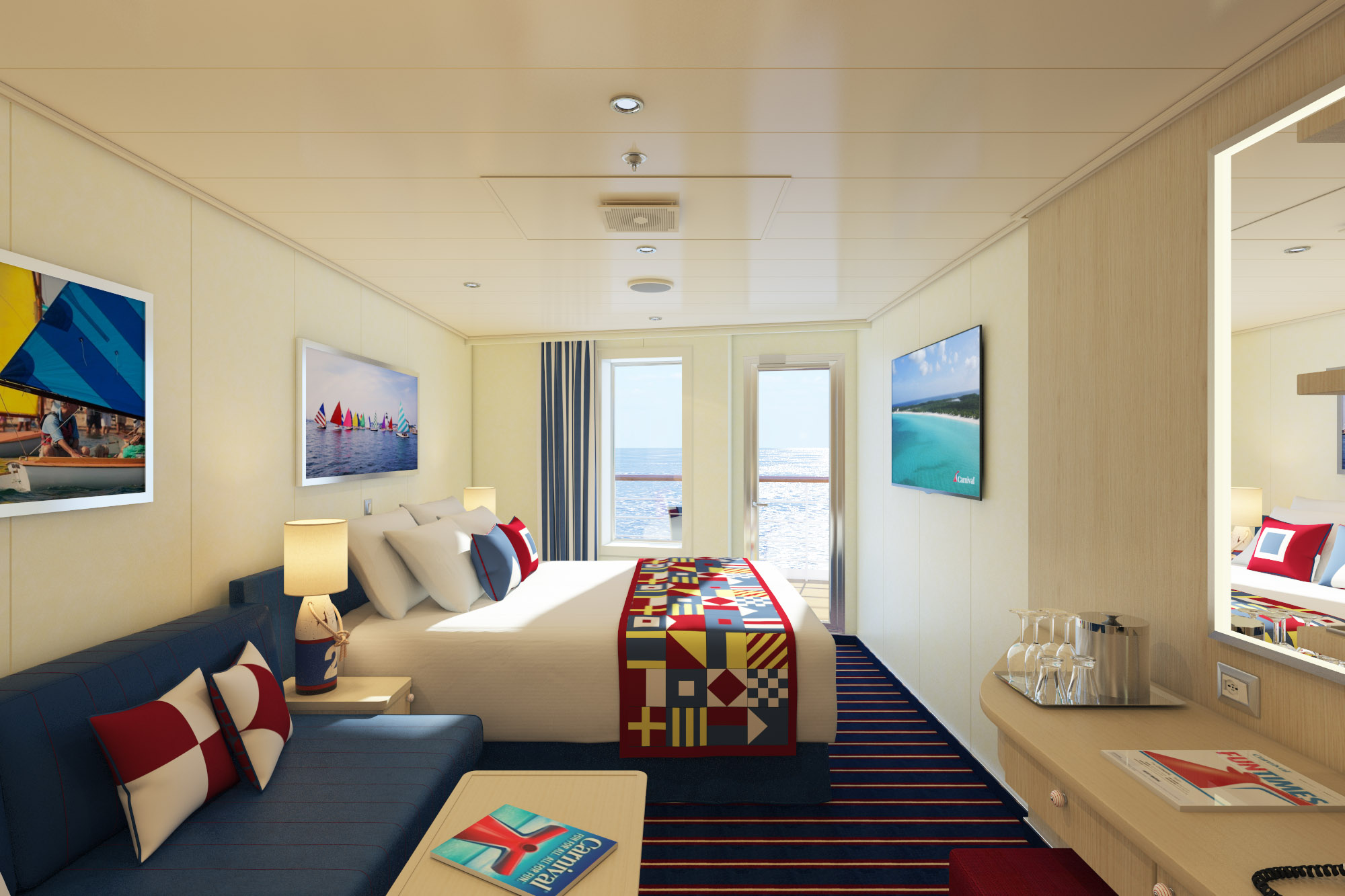 Carnival Horizon To Feature New Stateroom Category