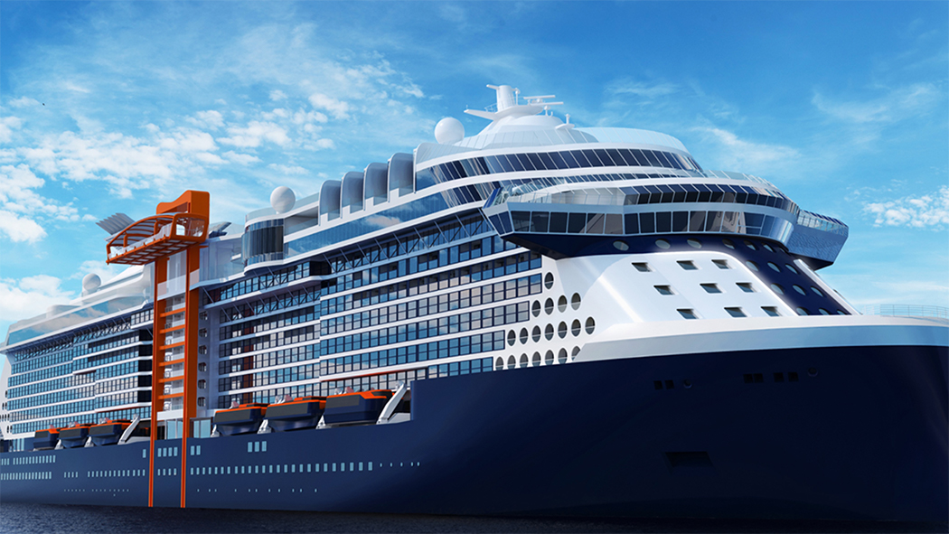 New Cruise Ships in 2018 - Celebrity Edge