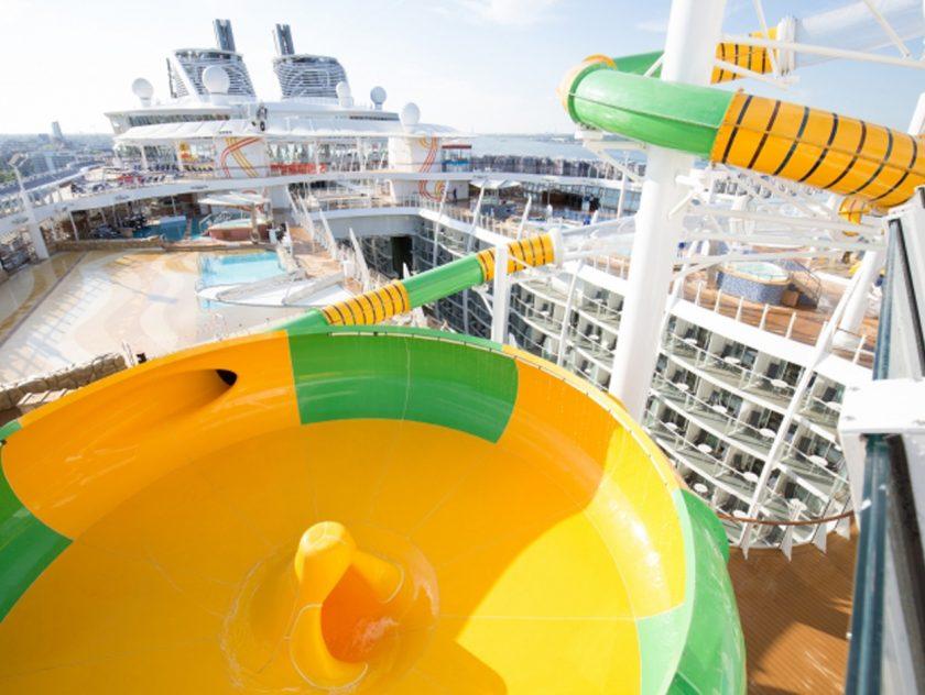 Amazing Cruise Ship Water Activities TalkingCruise - Cruise ship slide