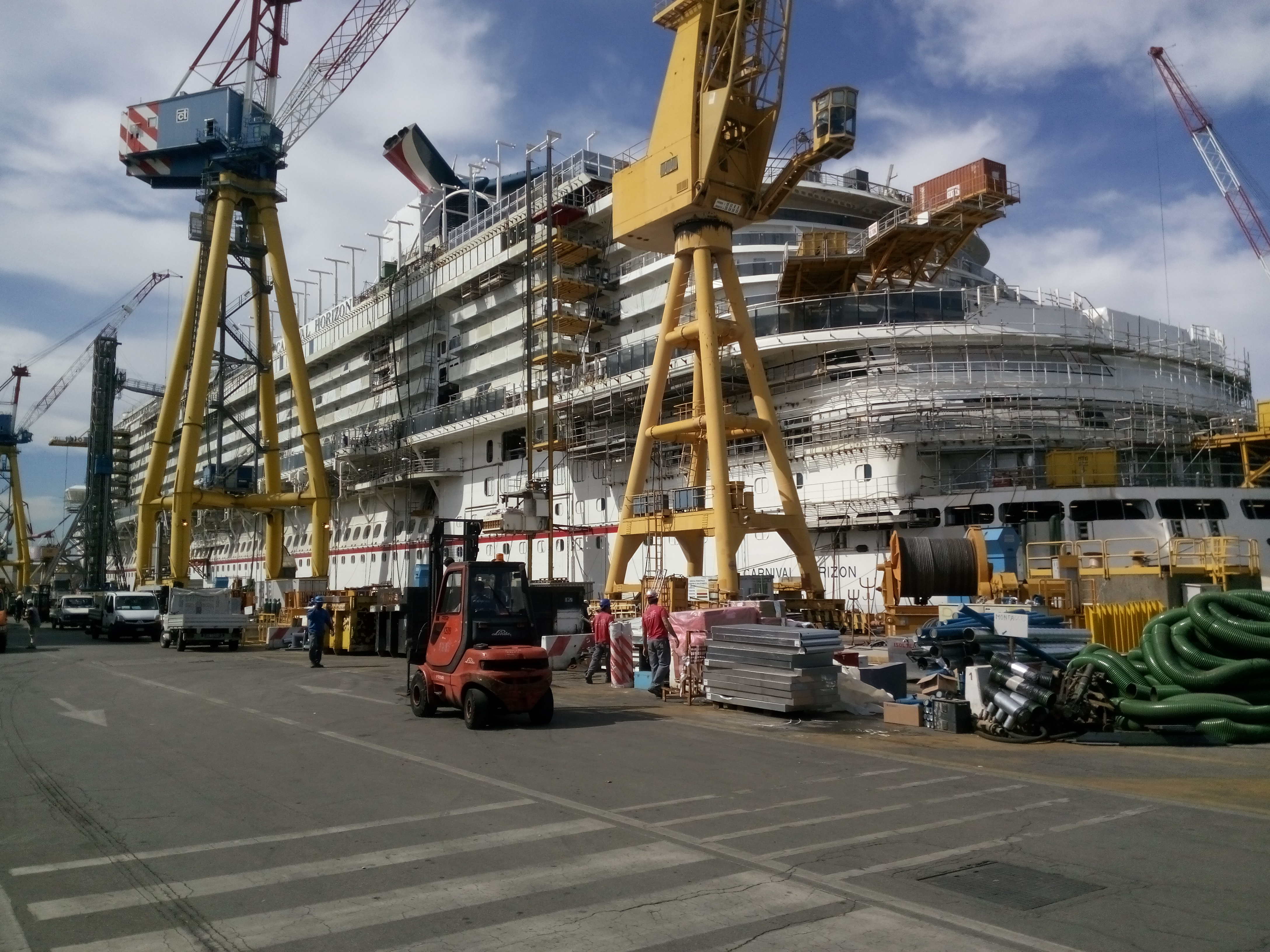 Carnival Horizon Construction Update Talking Cruise