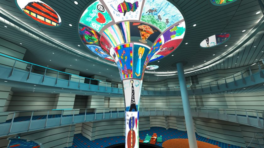 Carnival Horizon Atrium LED