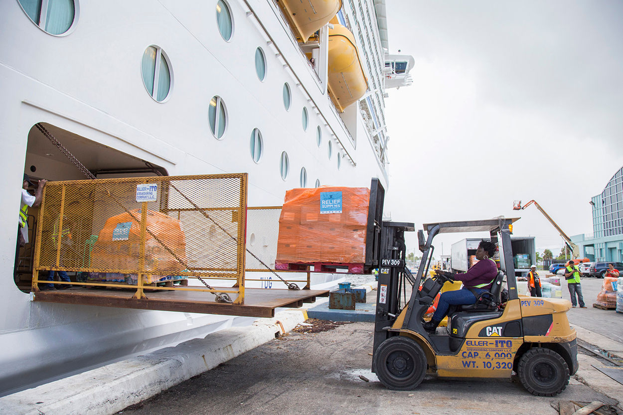Carnival, Royal Caribbean schedule returns to storm-affected Caribbean islands