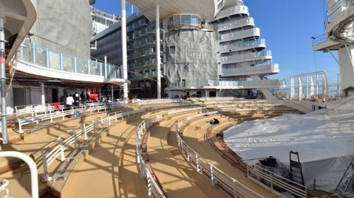 Symphony of the Seas October Construction Photos