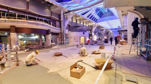 Symphony of the Seas November Construction Photos