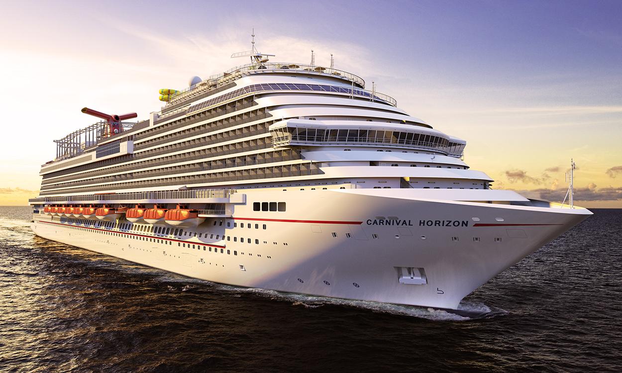 New Cruise Ships in 2018 - Carnival Horizon