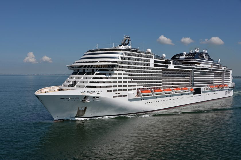 MSC Meraviglia from New York
