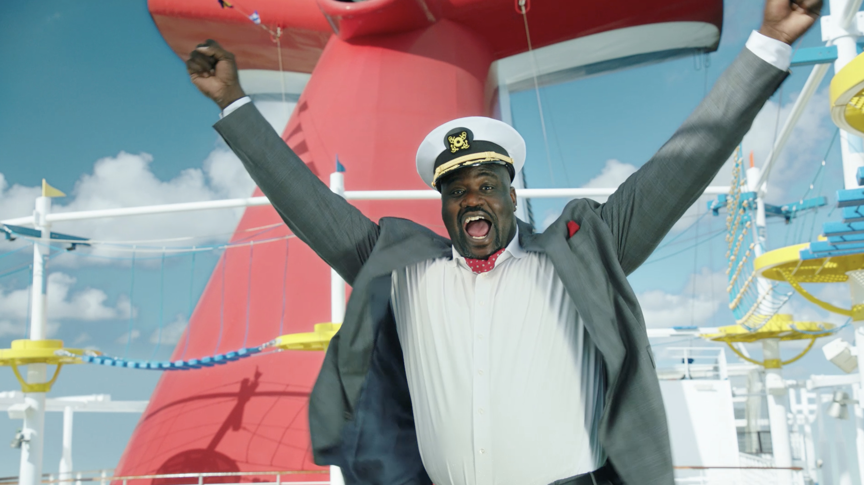 Shaq new CFO Chief Fun Officer at Carnival Cruise Line