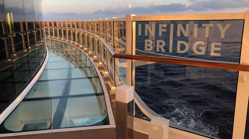 MSC Seaside Review - Infinity Bridge