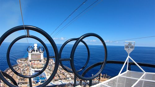 MSC Seaside Review - Zip Line