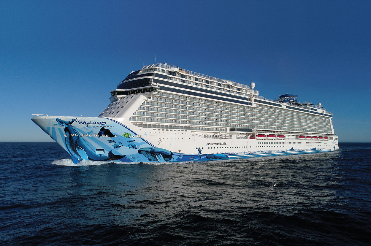 Norwegian Bliss Makes Her U S Debut In The Big Apple Talkingcruise