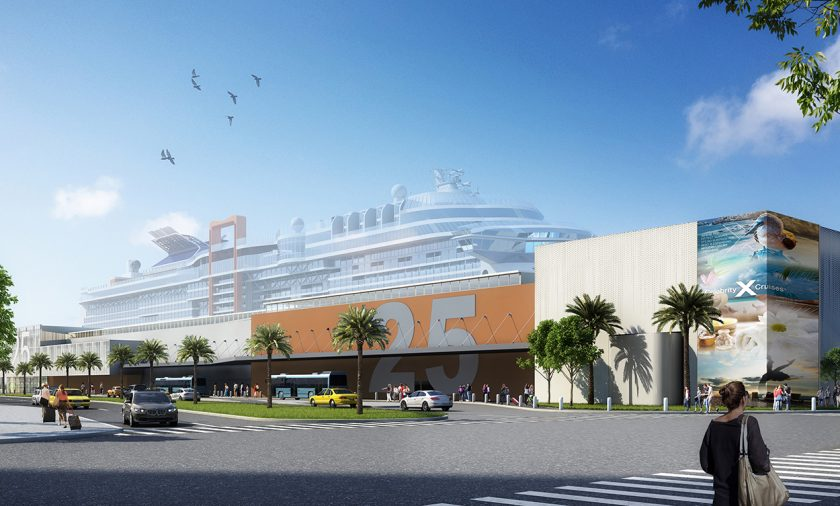 Celebrity Cruises Port Everglades Terminal 25