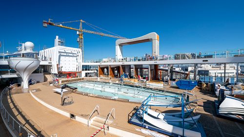 Celebrity Edge Shipyard Preview