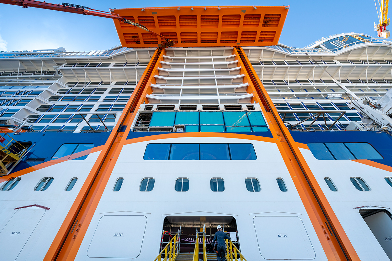 Celebrity Cruises Takes Delivery Of Celebrity Edge