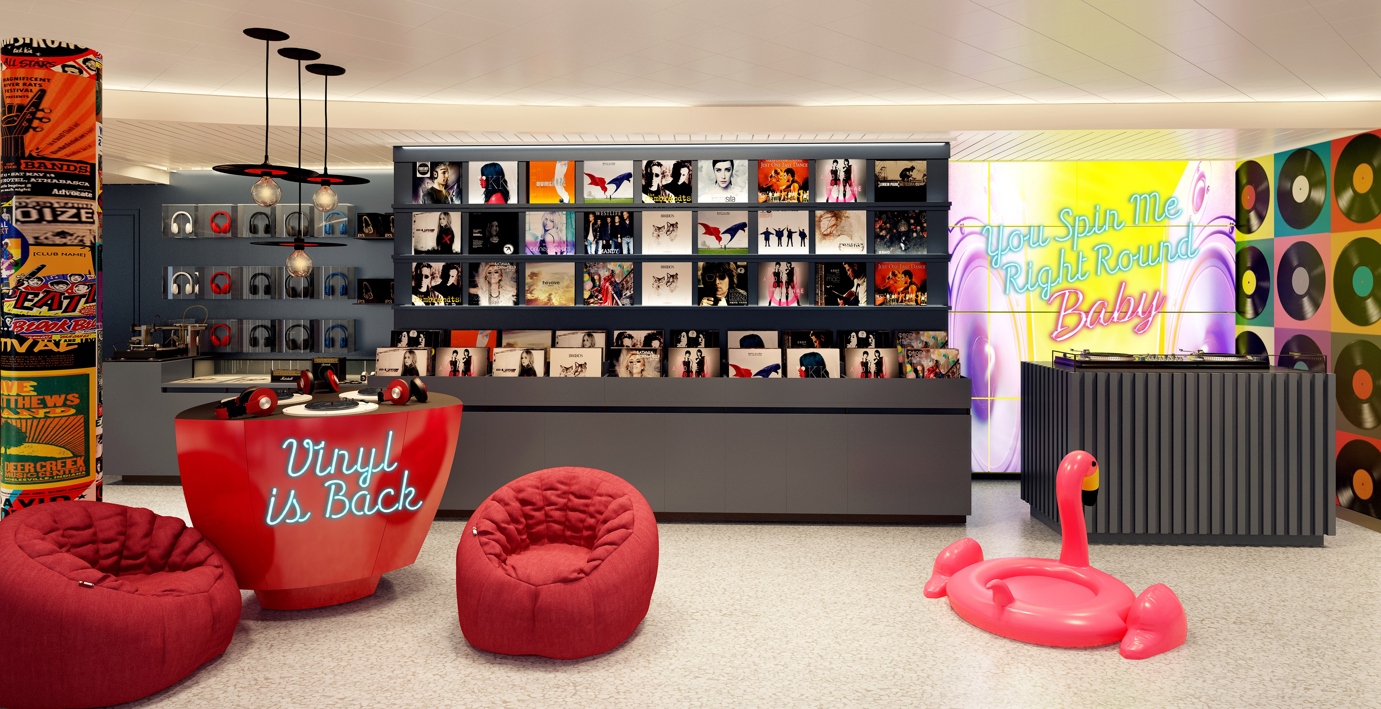 Virgin Voyages Music Centric Offerings On Scarlet Lady