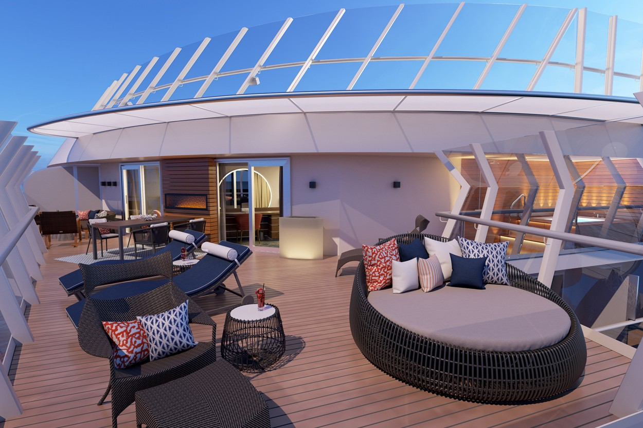 mardi gras balcony rental Carnivals Mardi Gras Ship To Have Premium Level Suites