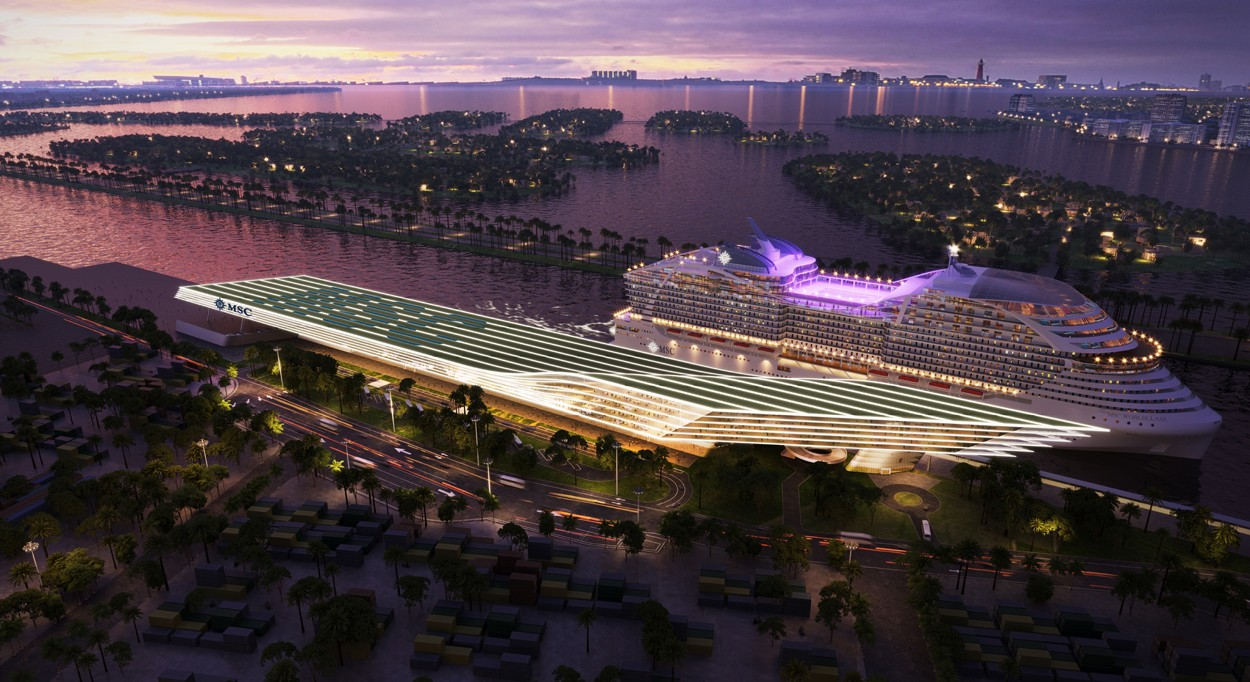 Cruises From Miami >> Msc Cruises Plans Multi Cruise Ship Terminal In Miami Talking Cruise