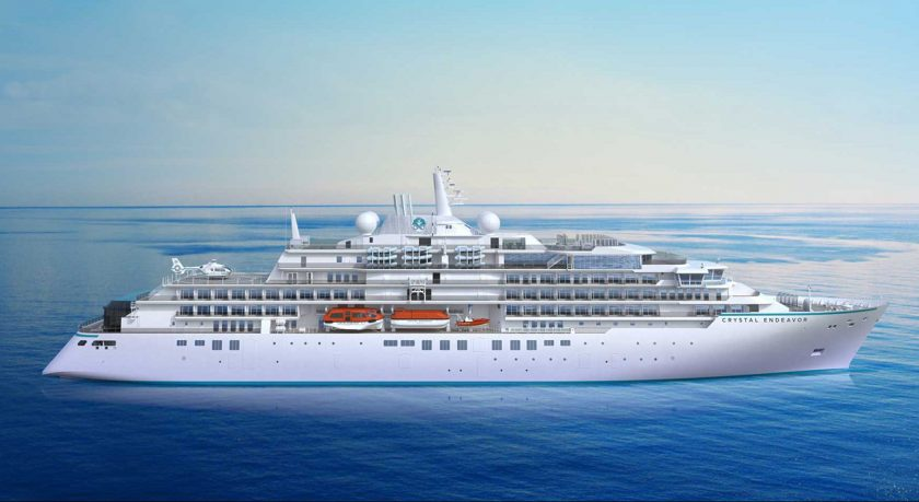 New Cruise Ships in 2021 - Crystal Endeavor