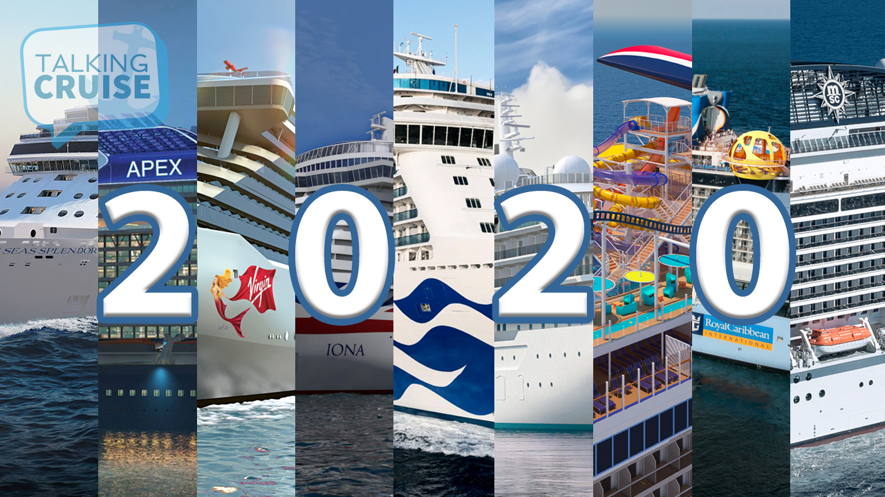 Top New Cruise Ships Arriving in 2020