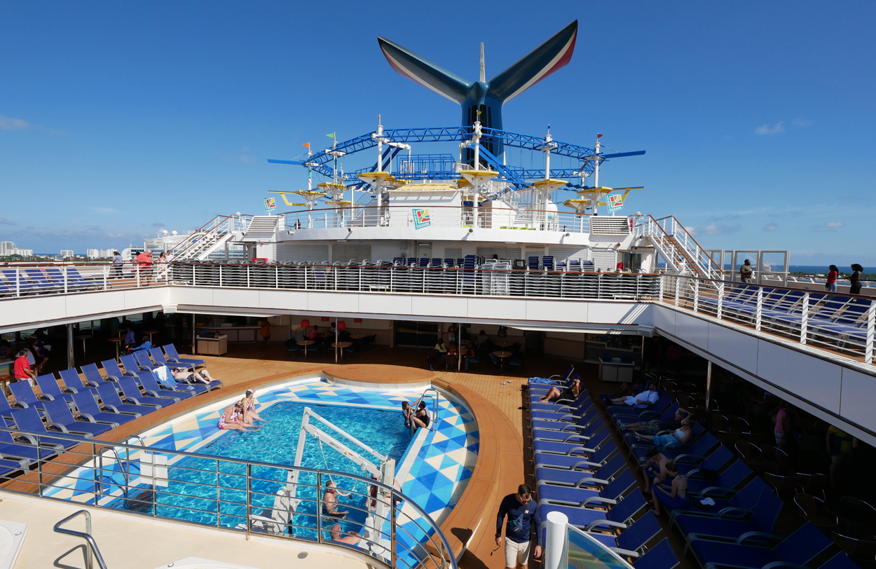 Carnival Sunrise: A Bright & Shiny Onboard Experience