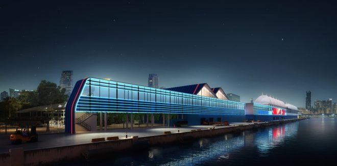 Rendering of New PortMiami Terminal