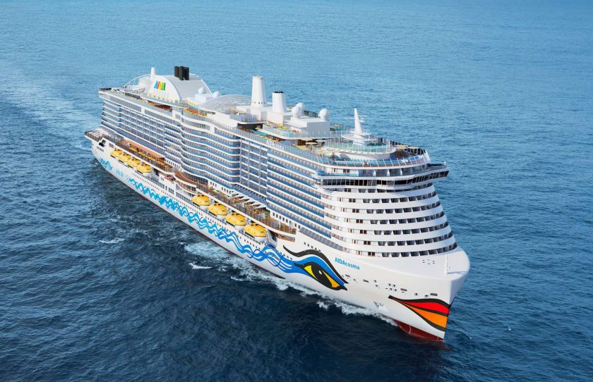 New Cruise Ships in 2021 - AIDAcosma