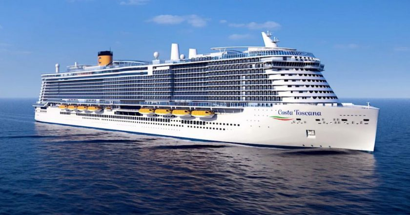 New Cruise Ships in 2021 - Costa Toscana