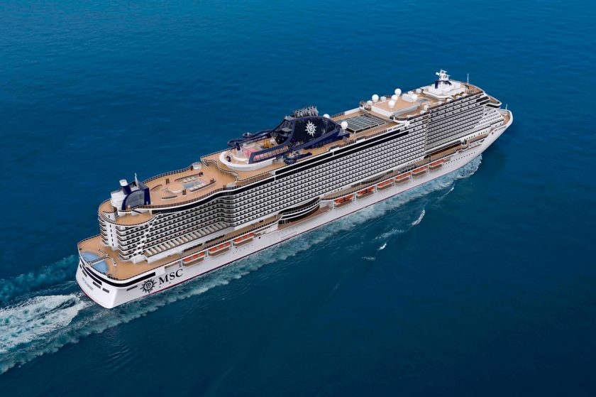 New Cruise Ships in 2021 - MSC Seashore