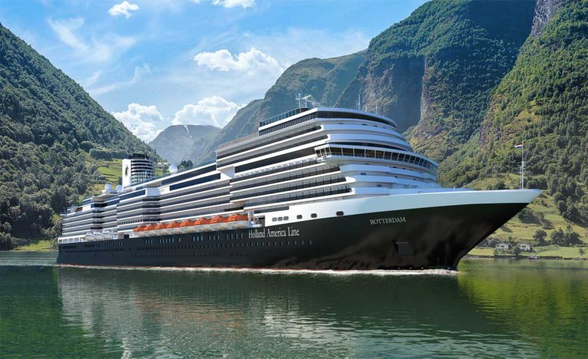 New Cruise Ships in 2021 - ms Rotterdam