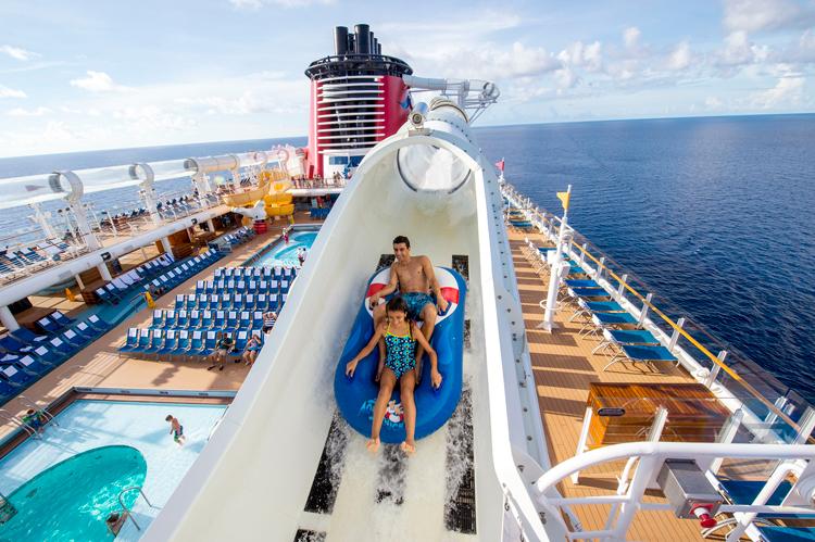 Top 10 Cruise Ship Water Slides