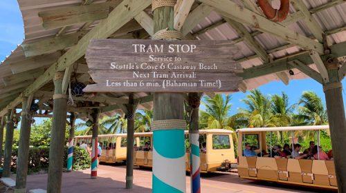 Arrival Plaza Tram Stop